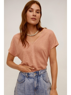 Mango T-shirt T SHIRT VAN LINNEN 67945949 85