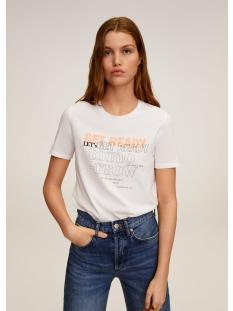 Mango T-shirt T SHIRT VAN ORGANISCH KATOEN 67007906 01