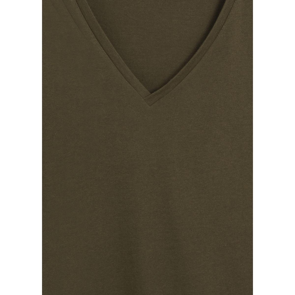 katoenen t shirt met v hals 67084384 mango t-shirt 37