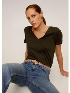 Mango T-shirt KATOENEN T SHIRT MET V HALS 67084384 37