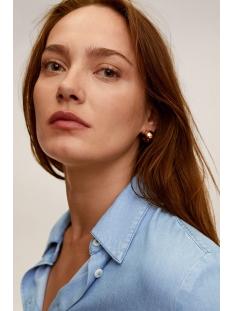 blouse met borstzakken 67025971 mango blouse tm