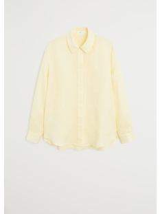 overhemd van linnen 67097649 mango blouse 12