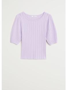 geplooid t shirt met pofmouwen 67068255 mango t-shirt 68