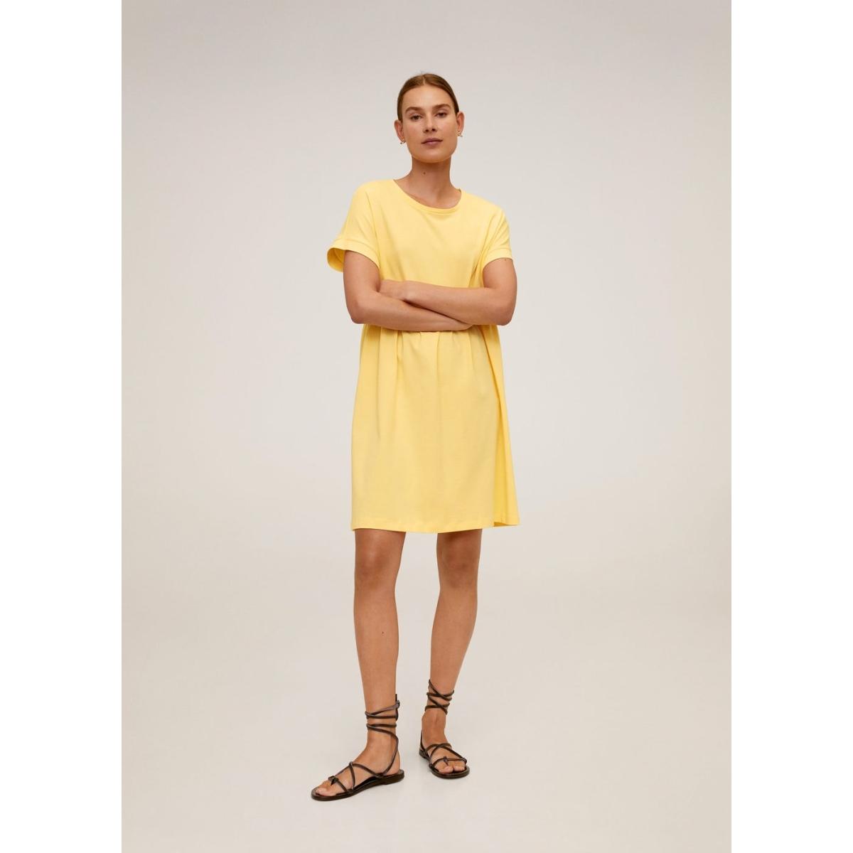 jurk van organisch katoen 67099207 mango jurk 11