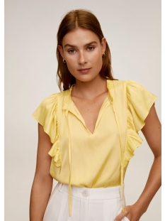 blouse met ruche 67027695 mango blouse 12