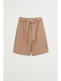 soft short met strik 67097660 mango korte broek 09