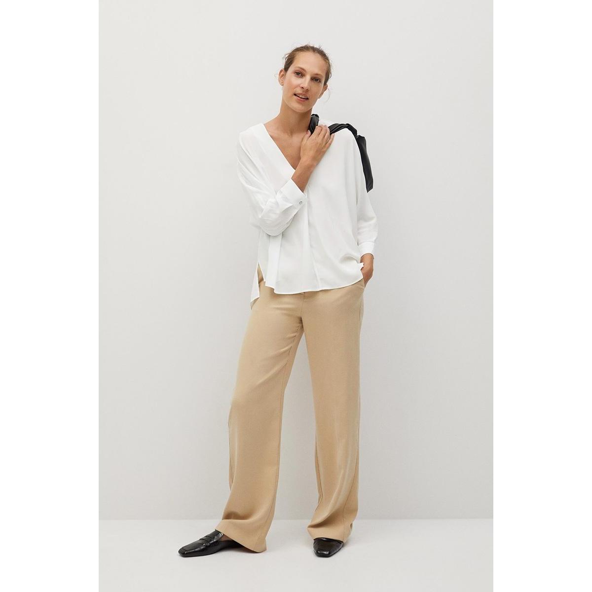 blouse met v hals 77094420 mango blouse 02