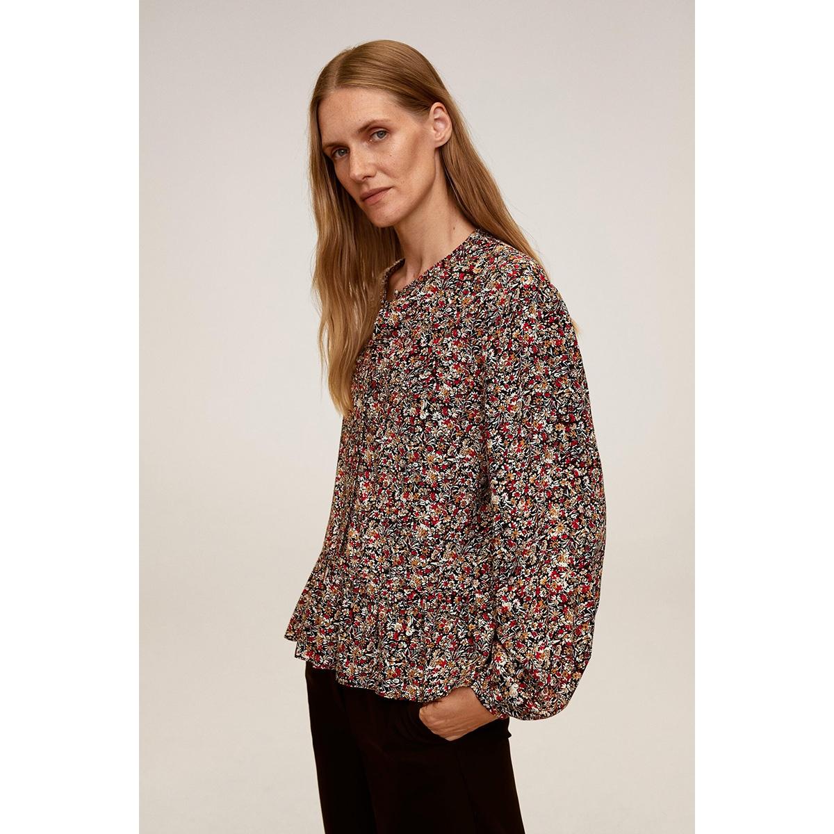 blouse met bloemenprint 77074413 mango blouse 70