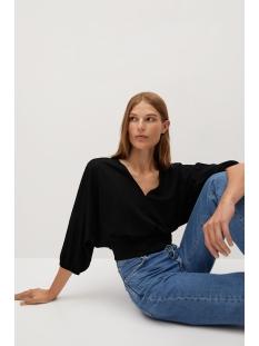 blouse met plooidetail 77024431 mango blouse 99