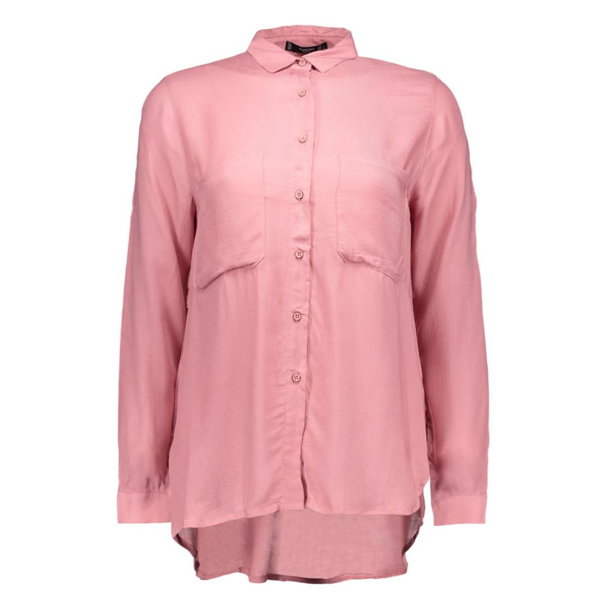 shirt basica mango blouses 71080197-81