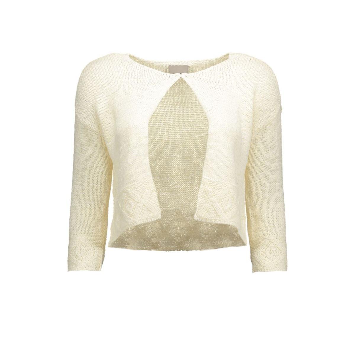 vmdaisy riva short cardigan 10156399 vero moda bolero snow white