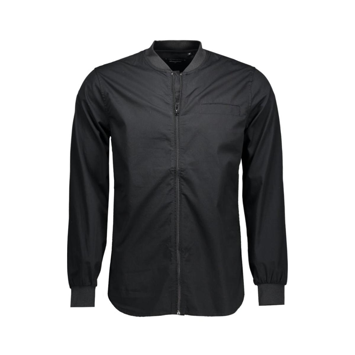 trostol casual zip 30200777 matinique overhemd 20050 black