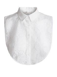 PCRIVER LACE COLLAR  EXP 17072227 Bright White
