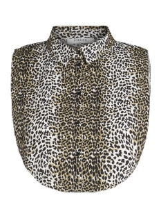 Pieces Accessoire PCRIVER COLLAR PRINT EXP 17091975 Khaki/ANIMAL PRI