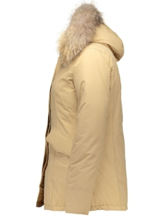 2 pocket basic parka airforce jassen obw16w1652-rf-latte_brown