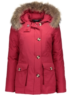 4 pocket basic parka airforce jassen obw16w1653-rf-cherry_red