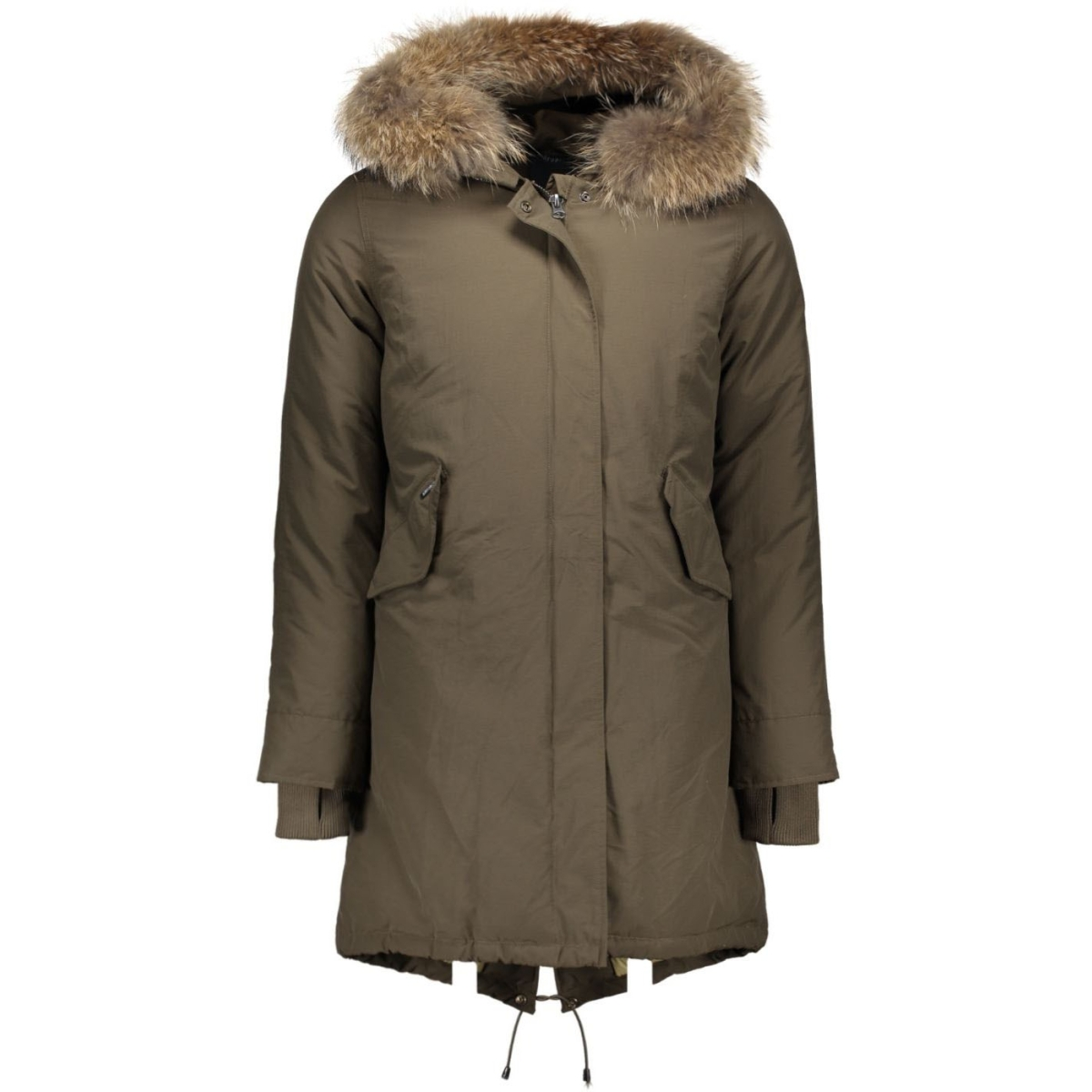 basic fishtail long parka airforce jassen obw16w1655-rf-army_green