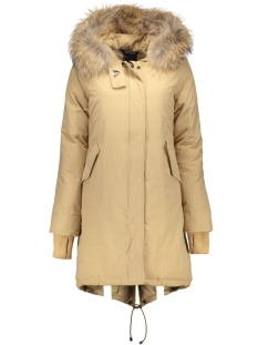 Airforce Jas Basic Fishtail Long Parka