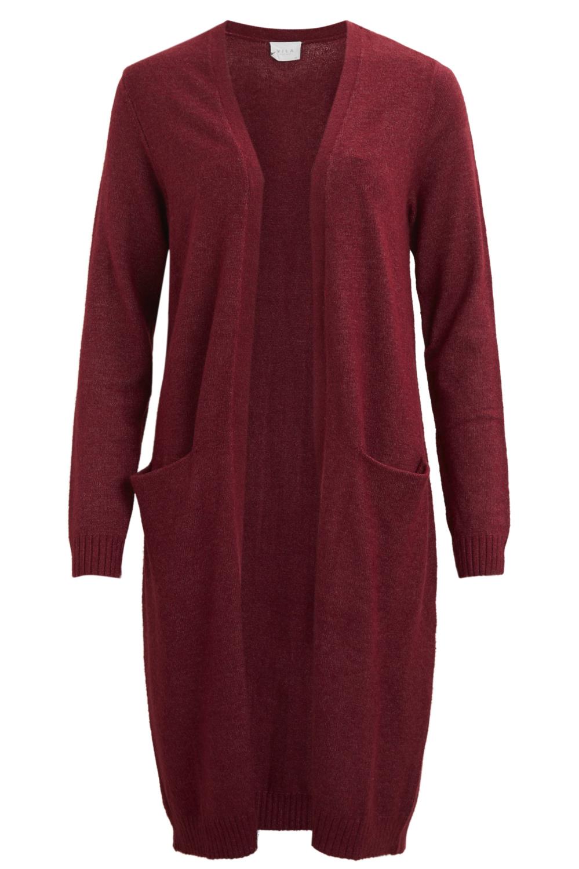 viril l/s long knit cardigan-fav 14043282 vila vest ...
