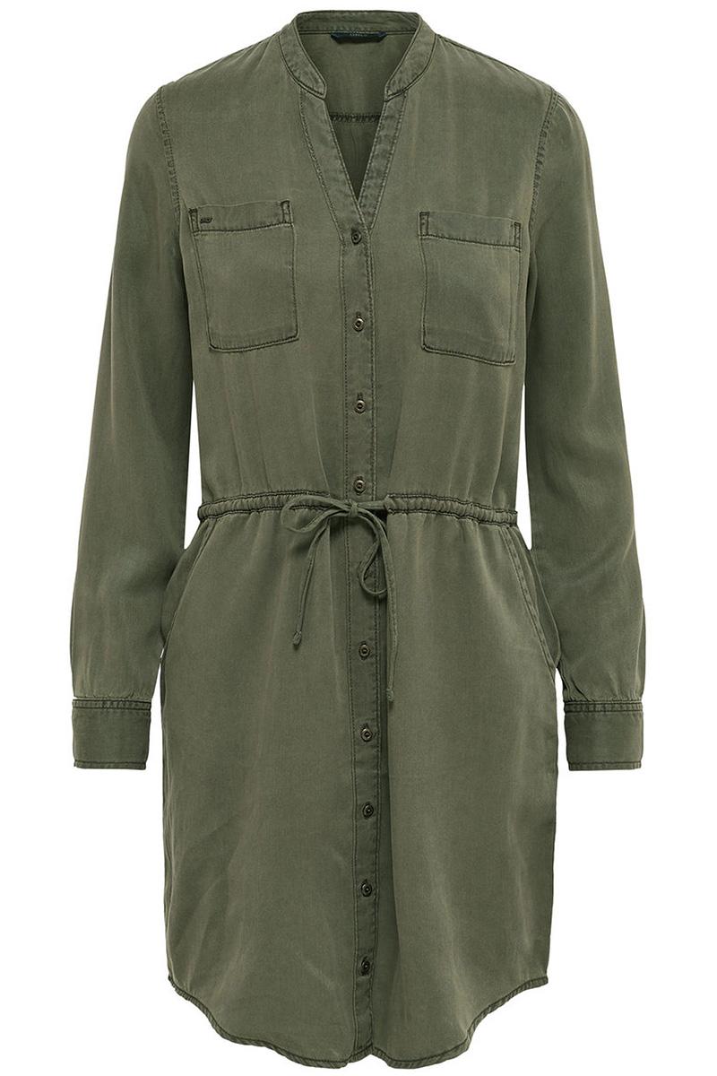 Onlheather col ls lyocel shirt dress 15148923 only jurk kalamata