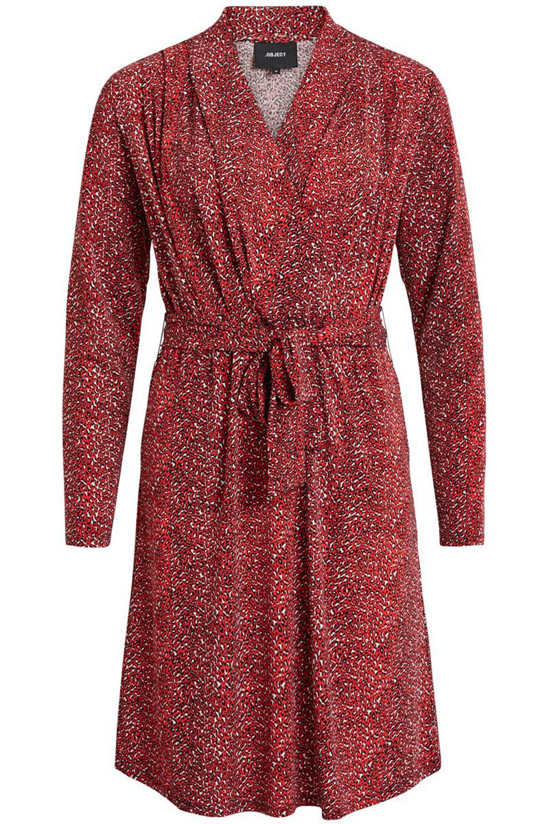 d5d5b59d300dbd objemma jersey dress 102 23028930 object jurk poppy red poppy red